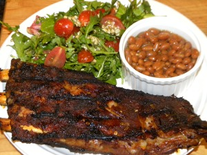 Honey Garlic Glazed Ribs