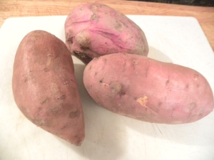 Pureed Sweet Potatoes Ingredients