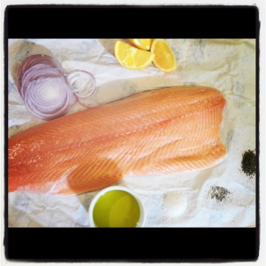 roasted salmon ingredients