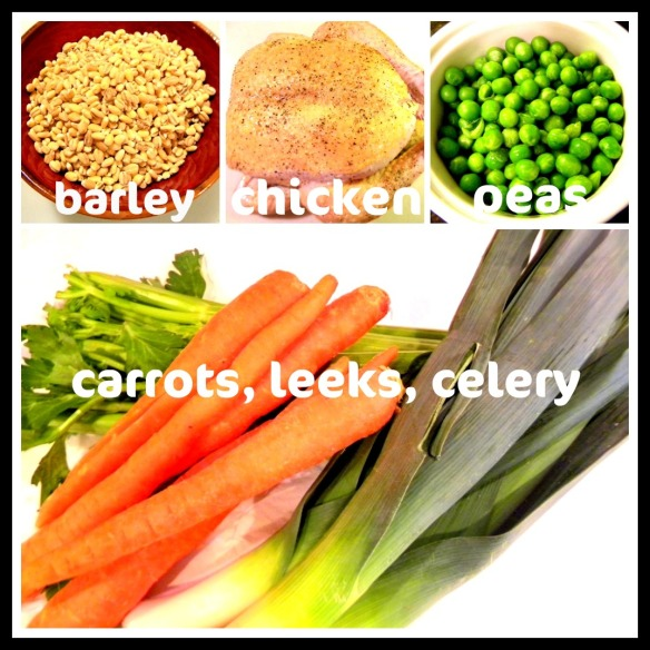 barley stew ingredients